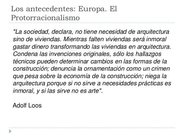 La arquitectura del siglo xx - Movimiento moderno ...