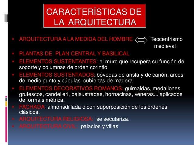 La arquitectura en el clasicismo del siglo xv for Caracteristicas de la arquitectura