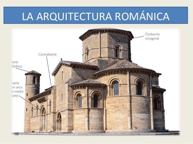 La arquitectura rom nica for Conceptualizacion de la arquitectura