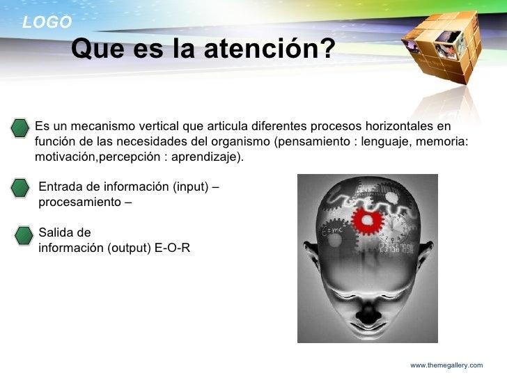 La atencion Slide 2