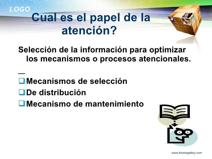 La atencion Slide 3