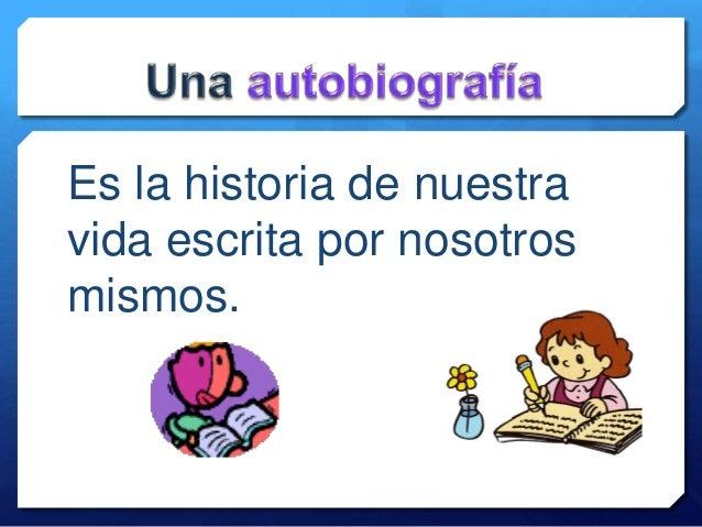 La autobiografía. María Luisa Offermann Slide 3