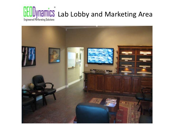 Lab Lobby and Marketing Area