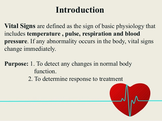 vitals signs nursing Read vital signs from the story fundamentals of nursing by xoxoyiee (yiee) with 8,875 readsdefinition these are indices of health, or signposts in d.