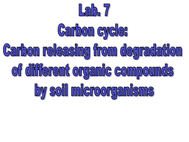 Subject objective: Each student should be able to•   Being able to determine which kind of organic compounds (carbohydrate...