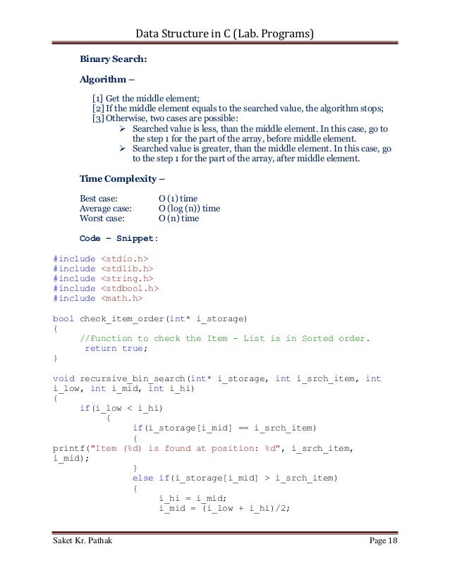 data structure programs in c pdf