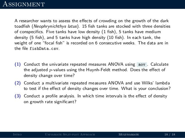 Repeated measures analysis in R