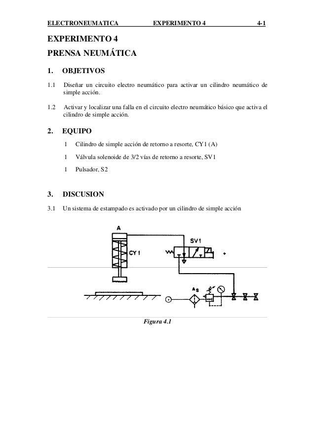 Circuito Neumatico Basico : Lab electroneumatica