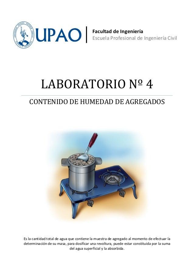 Facultad de Ingeniería                                          Escuela Profesional de Ingeniería Civil          LABORATOR...