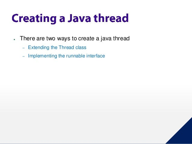 Java Thread By Extending Thread Class