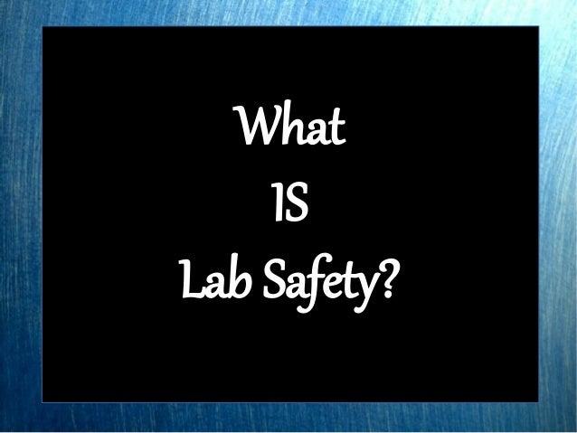 Lab 0-A Lab Safety Training