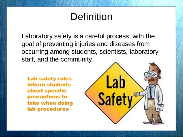 Lab safety essay