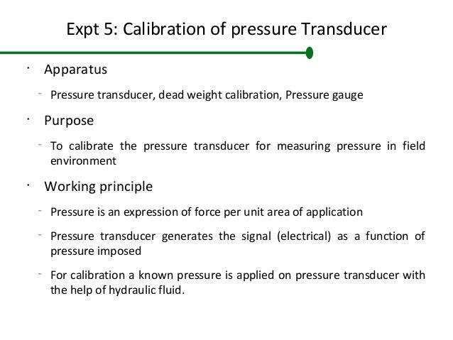 Basics of calibrating pressure transmitters ipp&t magazine online.
