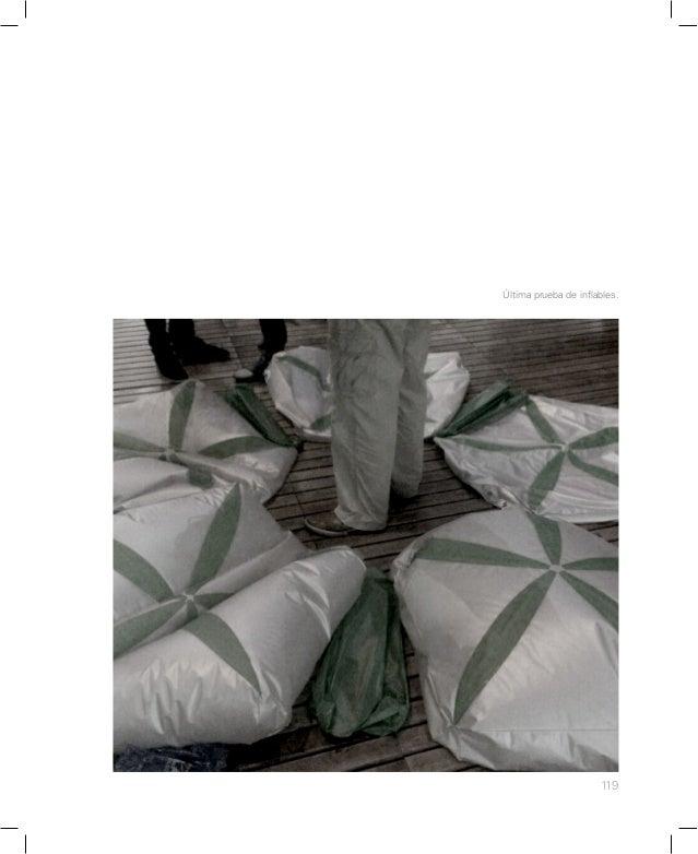 125 Tensionado de la cubierta textil.