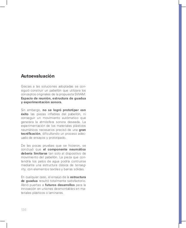 VERSIÓN 07. Anillos en MDF/ Estructura en guadua VERSIÓN 08. Anillos en MDF/ Estructura en guadua Pétalos en MDF Planta. P...