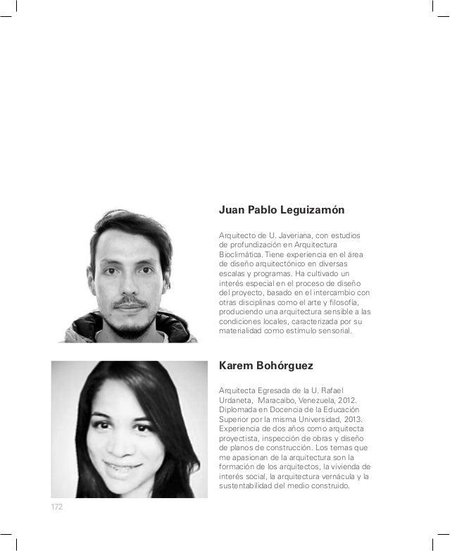 LABORATORIO DOS CATÁLOGO 2014 UNIVERSIDAD DE LOS ANDES MAESTRÍA EN ARQUITECTURA