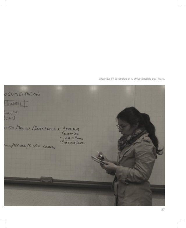 93 David Cabrera dibuja detalles constructivos en la Universidad de Los Andes.