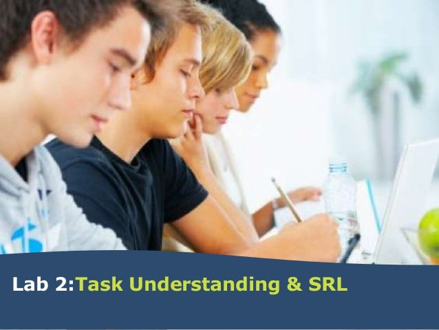 Lab 2:Task Understanding & SRL
