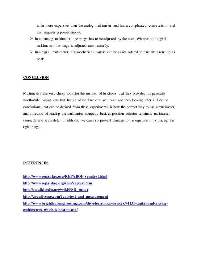 conclusion for lab report Lab report conclusions - order the needed review here and put aside your concerns get an a+ aid even for the hardest writings start working on your essay now with top-notch assistance guaranteed by the company.