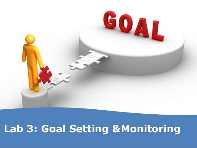 Lab 3: Goal Setting &Monitoring