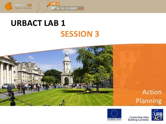 URBACT LAB 1 SESSION 3 Action Planning