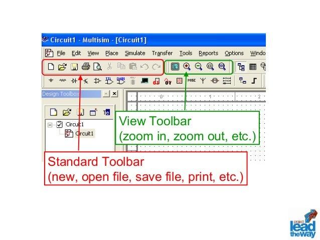 Lab 7 Multisim Software Tutorial