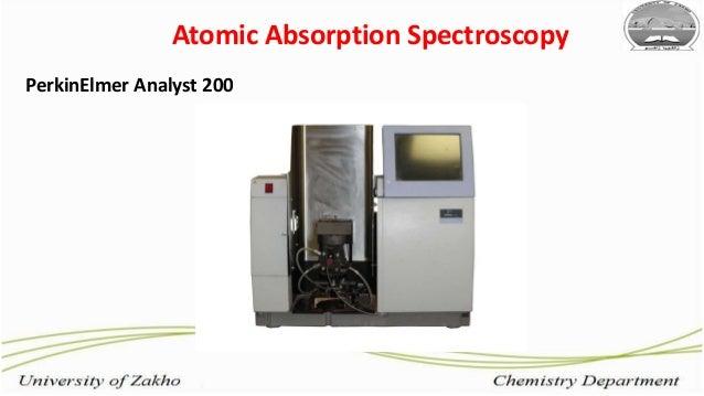 16 Atomic Absorption Spectroscopy PerkinElmer Analyst 200