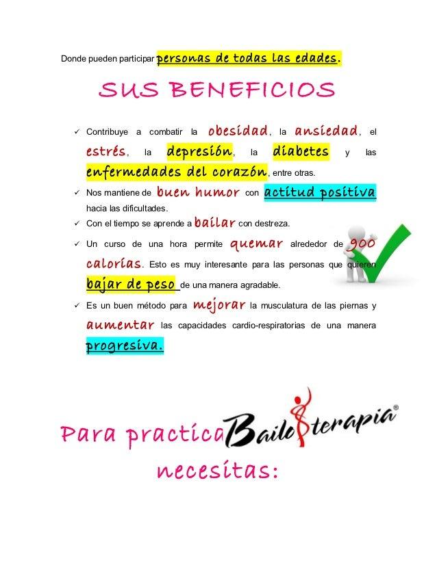 BENEFICIOS DE LA BAILOTERAPIA EBOOK DOWNLOAD