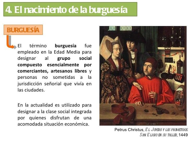 ¿A qué se dedicaban los       burgueses?    ACTIVIDAD MERCANTIL                   ACTIVIDAD FINANCIERA          (comercian...