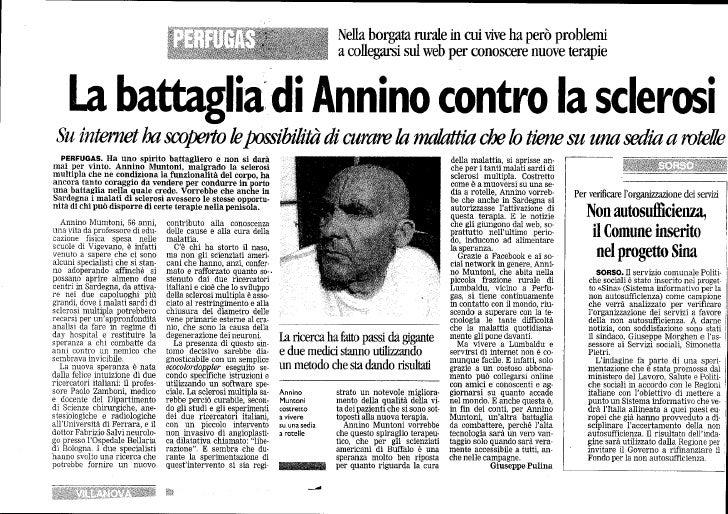 La Battaglia Di Annino - La Nuova Sardegna
