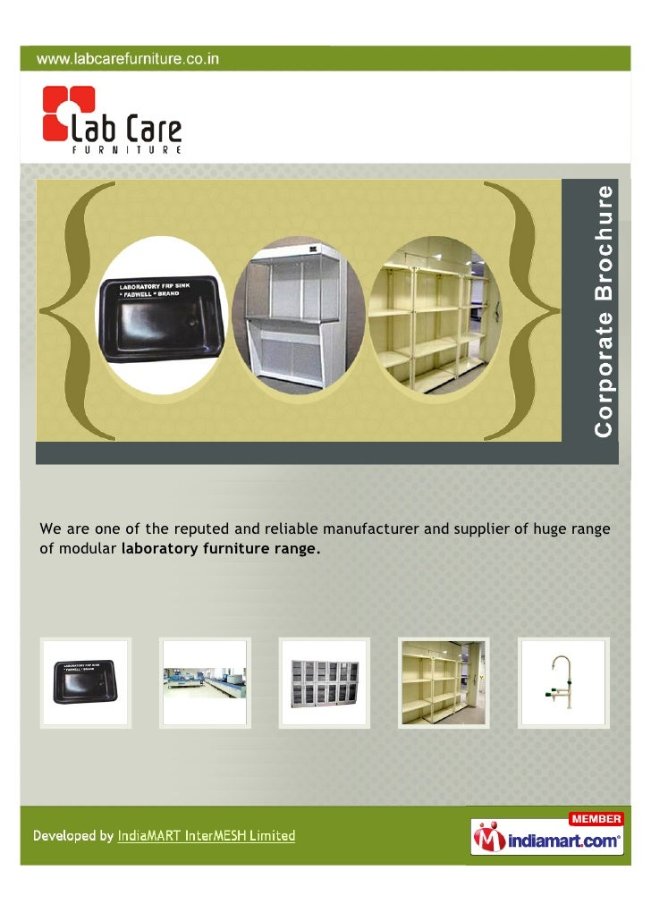 We are one of the reputed and reliable manufacturer and supplier of huge rangeof modular laboratory furniture range.