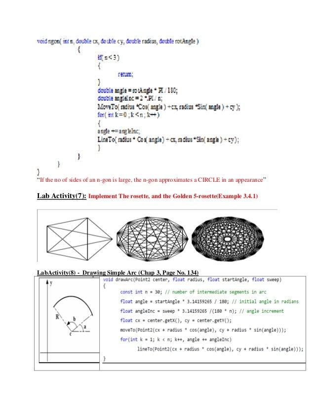 lab computer graphics opengl rh slideshare net OpenGL ES OpenGL Triangle