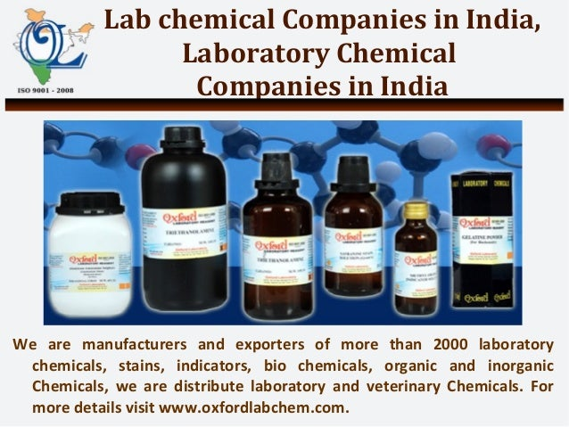Lab Chemical Companies in India