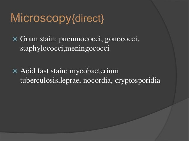 Lab diagnosis of bacterial infections  Lab diagnosis o...