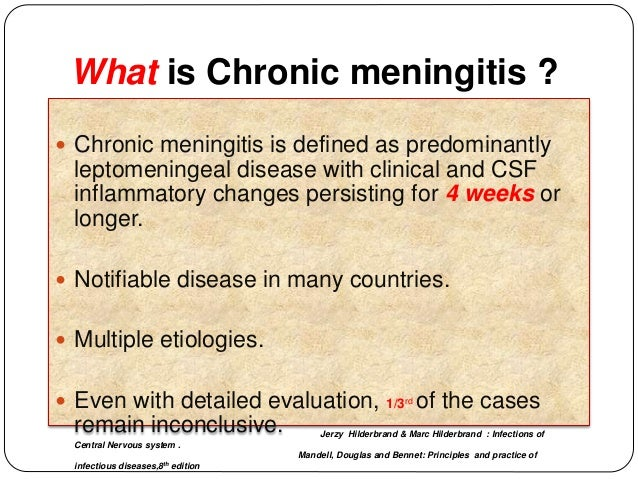 Lab Diagnosis Of Chronic Meningitis Tavr