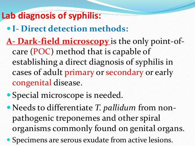 Laboratory diagnosis of sexually transmitted infections including human