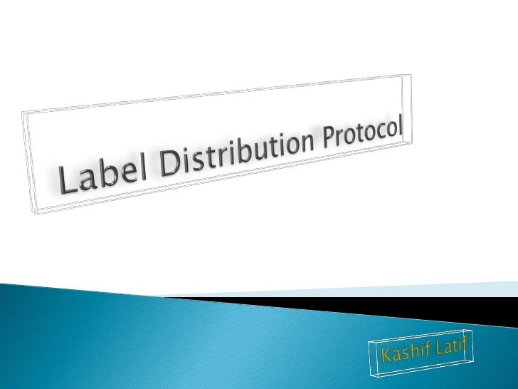 Label Distribution Protocol (LDP) is a protocolin which routers capable of Multiprotocol LabelSwitching (MPLS) exchange la...