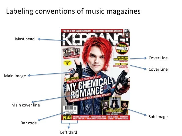 Labeling Conventions Of Magazines