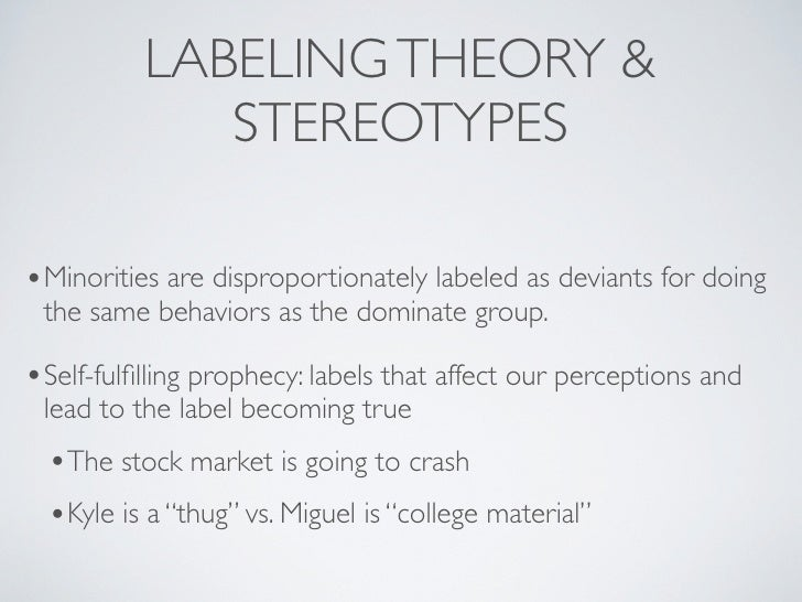 labelling theory crime essay This essay has been submitted by a student this is not an example of the work written by our professional essay writers labelling theory is very useful in explaining criminal behaviour labelling theory is one of the theories which explain the causes of deviant and criminal behaviour in society.
