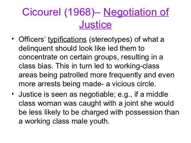 labelling theory for understanding youth crime Followers of this theory also argue that, the labeling theory is relevant in understanding why some youth even after facing the law several times still find themselves in the courts of justice during their adult stage.