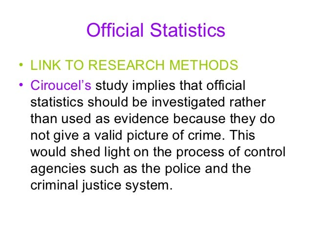 labelling theory and crime