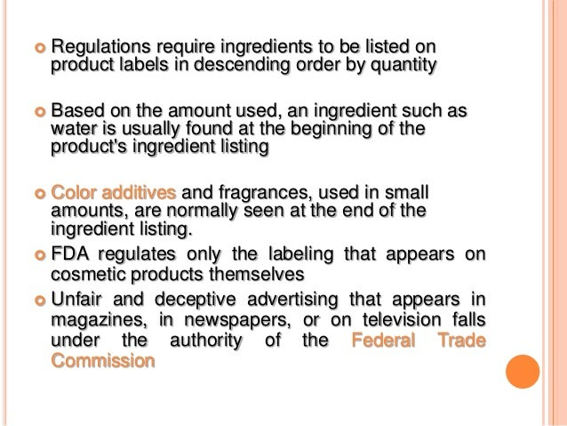 Labelling of drugs cosmetics nd biotech