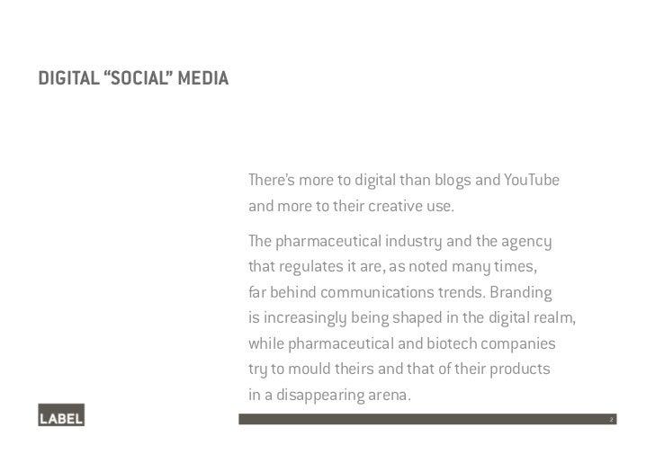 Pharmaceutical Social Media Case Studies Slide 2