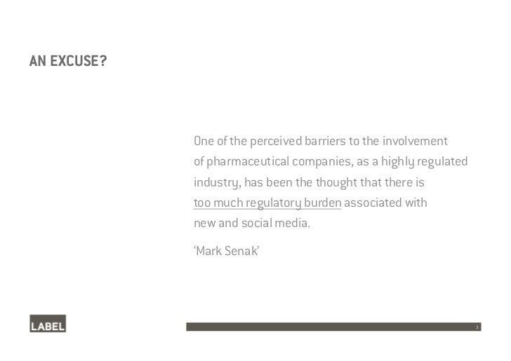 Pharmaceutical Social Media Case Studies Slide 3
