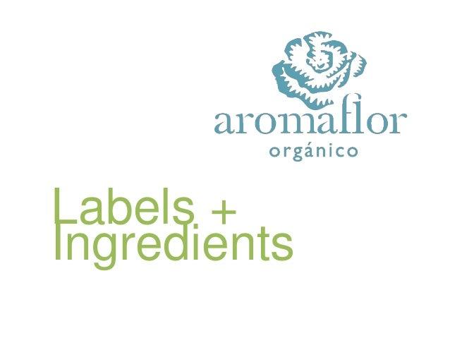 Labels +Ingredients