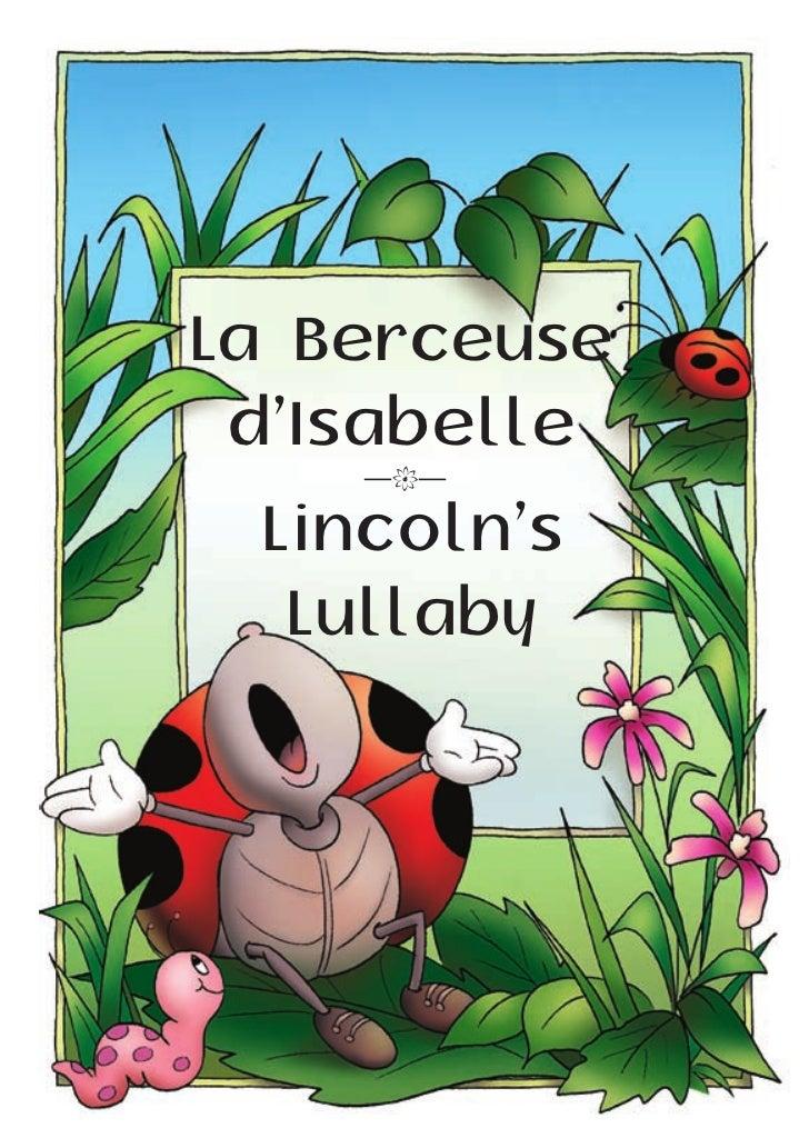 La Berceuse d'Isabelle    —k— Lincoln's  Lullaby