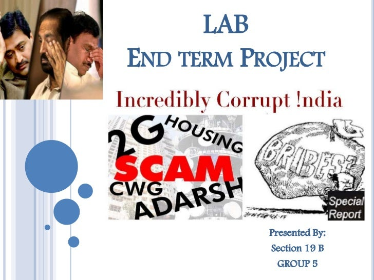 LABEND TERM PROJECT           Presented By:           Section 19 B             GROUP 5