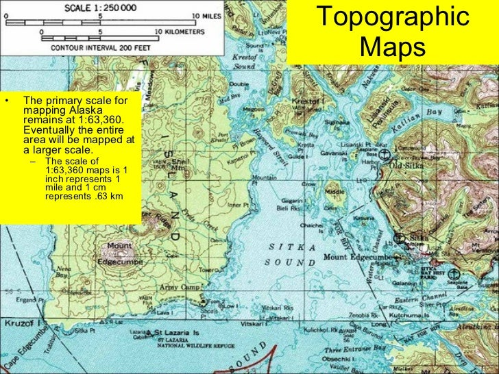 Lab Five Us Geological Survey Topographic Maps Us Public - Us map with km scale