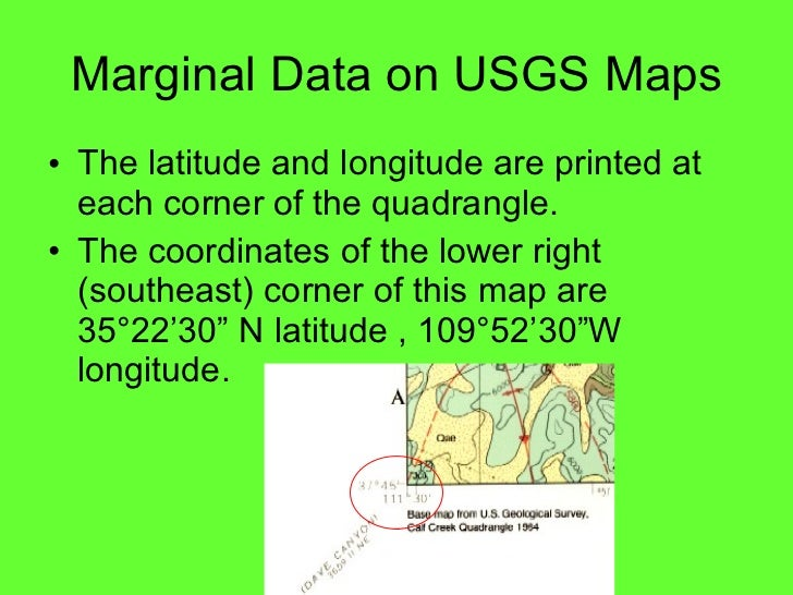 Lab five us geological survey topographic maps us public