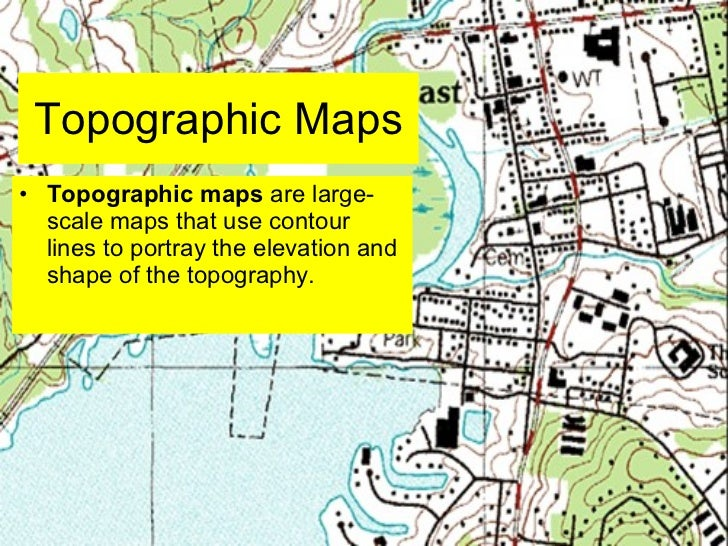 Lab five us geological survey topographic maps & us public